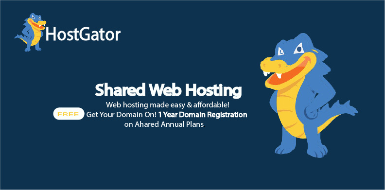 HostGator is the best domain and hosting provider